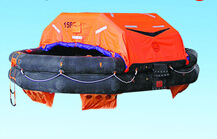 2014 New factpry produced CCS EC approved solas approved Throw-Over type inflatable life-raft