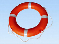2.5kg 4.3kg Solas approved Marine life buoy