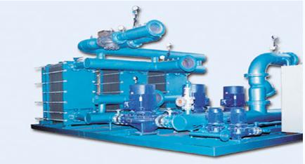 plate heat exchanger unit