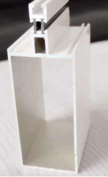 white Aluminum profile