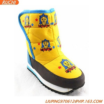 kids winter snow boots cartoon kids boots