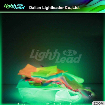 China wholesale glow cotton waterproof cloth for glow apparel