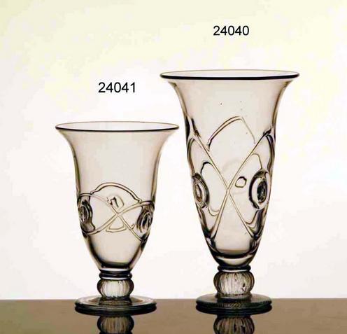 Glass Vases (A:24040/B:24041)