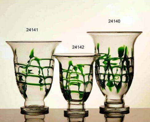 Glass Vases (24140/24141/24142