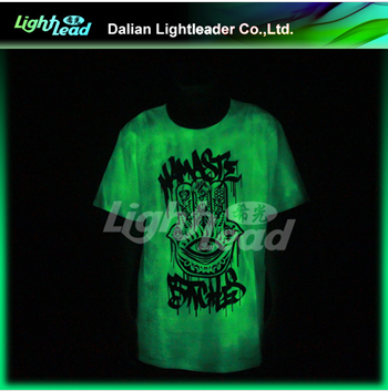 Glow in the dark star concert clothing for the fans (no need of electric)