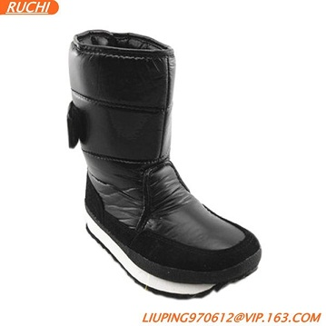 Winter Ski Boots for Women Outdoor Winter Ski Wool Lining