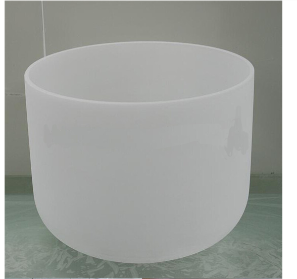 STA Clear Quartz Crucible, Milky Quartz Crucible, quartz Singing Bowls