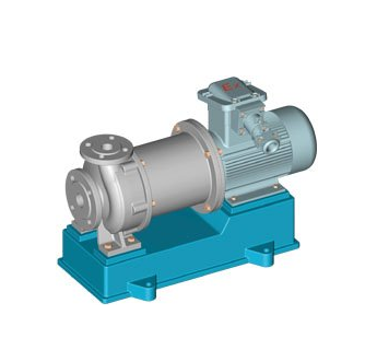Magnetic Force Driving Pumps
