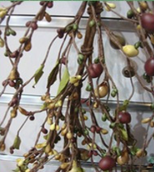 Hot sale 2014 fashion styles New arrival Artificial pip berry garland for spring decoration wholesale