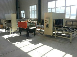 Foamed cement insulation board production line