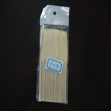 disposable plastic packed bamboo sticks