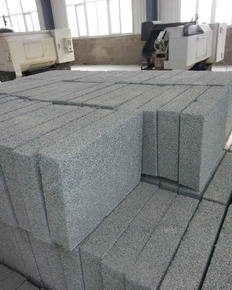 Cement foam insulation board