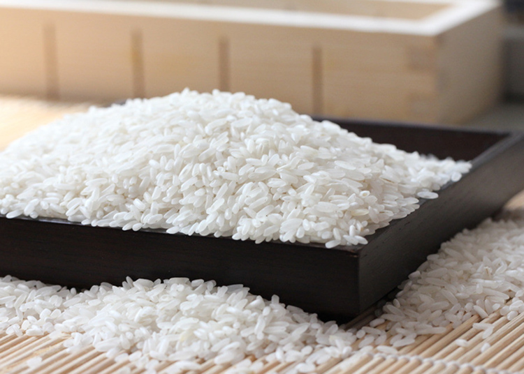 White Raw Rice