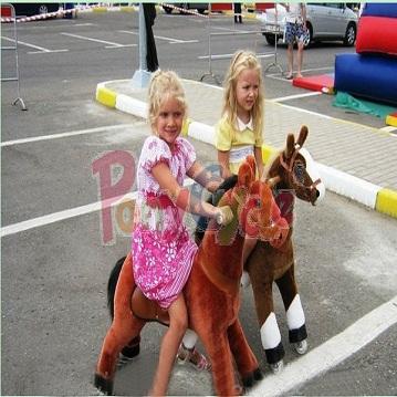 Plush Riding Walking Horse Toy
