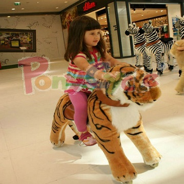 Pony Cycle plush tiger Toy