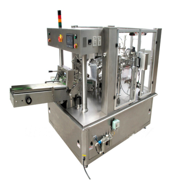 Rotary packing machine for Premade Pouches