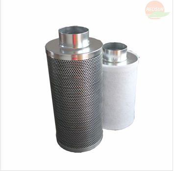 hydroponic grow tent active carbon filter
