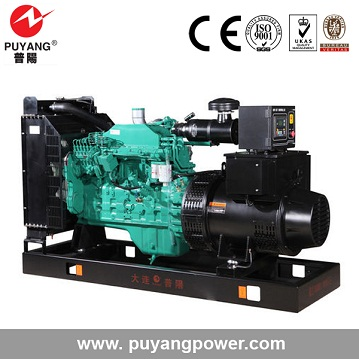 Electric start CE ISO cummins 125 kva diesel generator set india gujarat