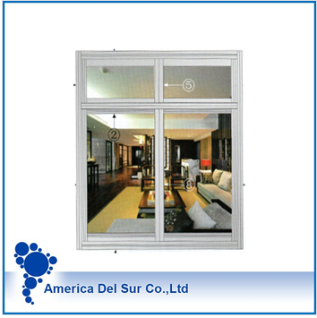 aluminum profile for window with drawing