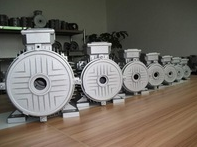 Custom Cast Iron Housing for Electrical Motor