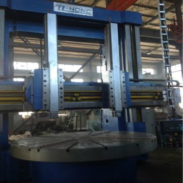 heavy precision cnc vertical lathe machine for large parts dia 6.3m CKZ5263 in china