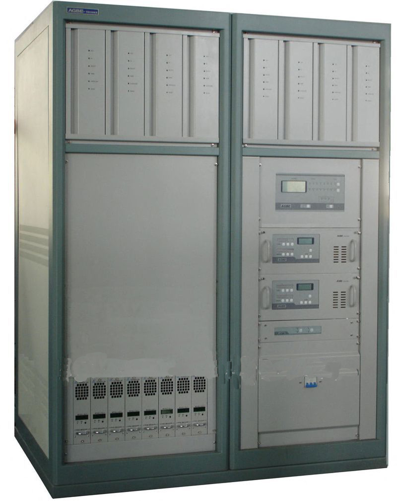 AGBE analog solid state UHF 10kw TV broadcast transmitter equipment station manufacturers sale china