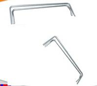extruded aluminum profiles bathroom towel shelf parts