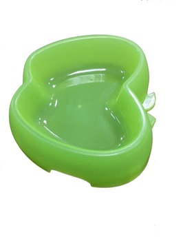 2014 new pet products apple shape plastic pet bowl unique products from china