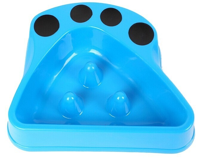 2014 New Pet Product Plastic Dog Bowl for preventing gulping