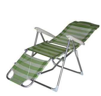 folding beach chair with footrest