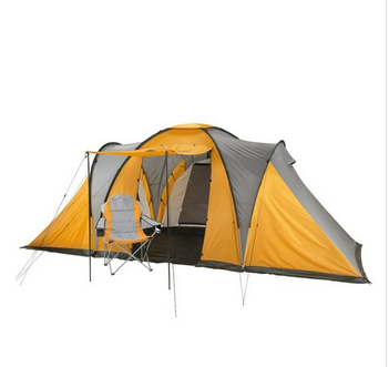 Camping tent and chair camp