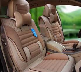 linen car mat