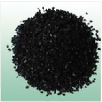 Activated charcoal for medicine