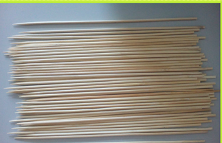 Disposable Bamboo Skewers for BBQ with Different Sizes