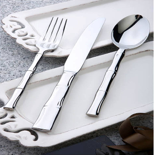 Bamboo Jiont Series Stainless Steel Tableware