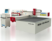 1500*2500mm CNC cantilever type cnc water cutting steel machine