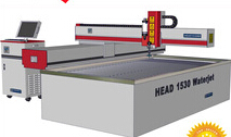 1500*3000mm cantilever type CNC water jet cutting granite tile cutting machine