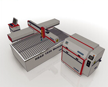 CNC high pressure waterjet cutting machine for composite material 1500*3000mm cutting table