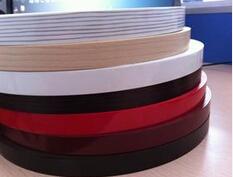 2/20 mm high glossy black pvc edge banding/ good quality glue