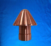 China quality products electrical contacts use highly electrically conductive copper tungsten contact
