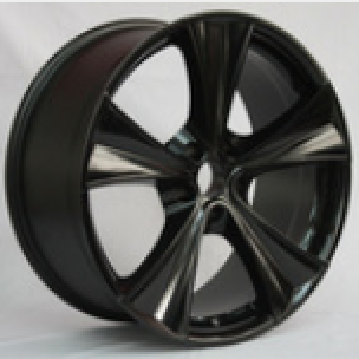 Low pressure casting alloy wheel