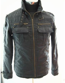 man's down feather fashionable jacket
