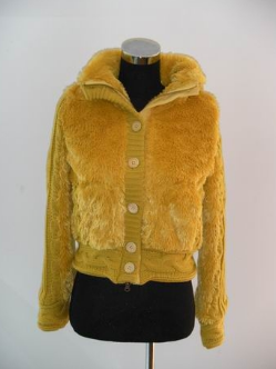 lady's coat ;lady's fur coat; lady's rabbit fur coat
