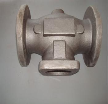 OEM sand casting steel valve body