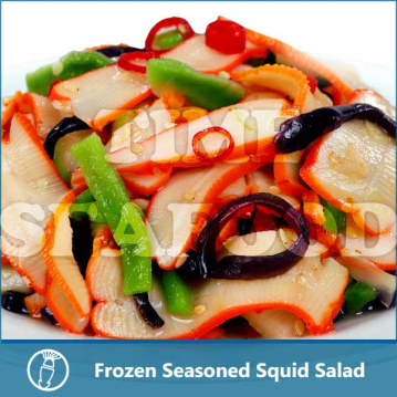 Frozen Seasoned Squid Salad