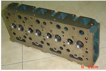 High quality cylinder head for Kubota