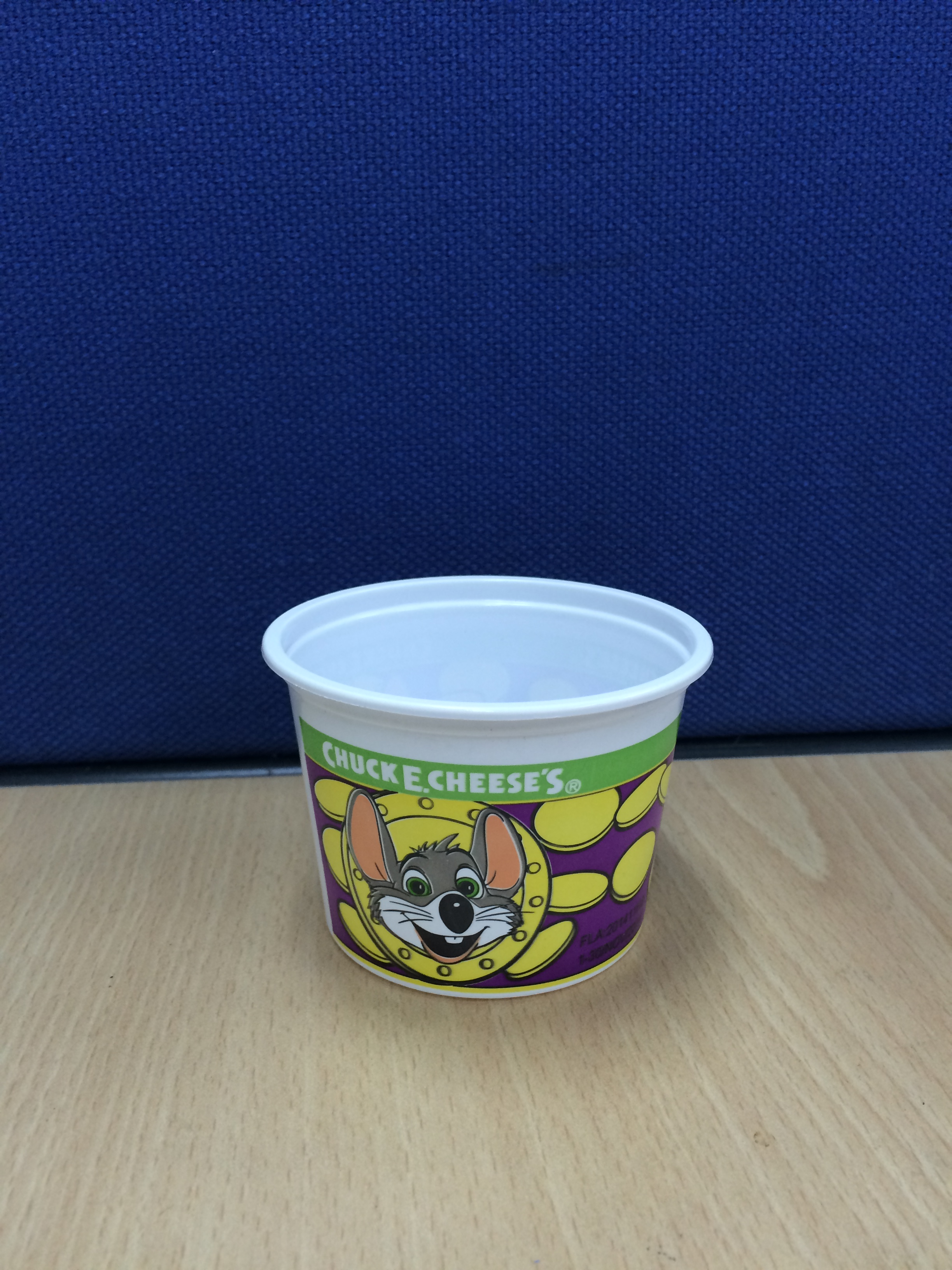 Plastic Game Coin cup