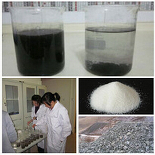 Amphoteric flocculant for tailing waste water treatment