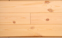 Red pine wall panel