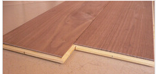 Black walnut 3 layer Engineered Flooring